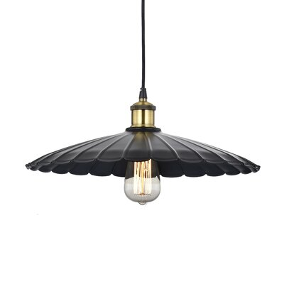 Horkos 1-Light Inverted Pendant