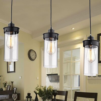 Elpis 3-Light Kitchen Island Pendant