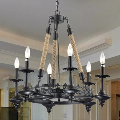 Eastcotts 6-Light Candle-Style Chandelier