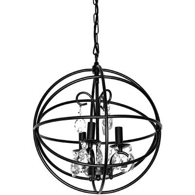 Bruthen 3-Light Globe Pendant