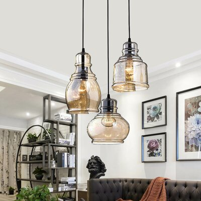 Analia Vintage 3-Light Cluster Pendant