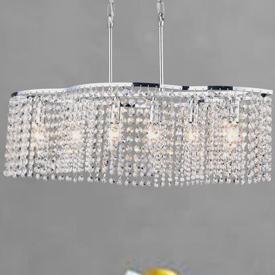 Bristow 6-Light Crystal Chandelier