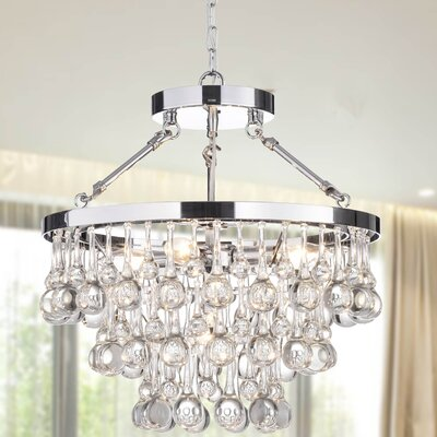 Kerr 5-Light Crystal Chandelier