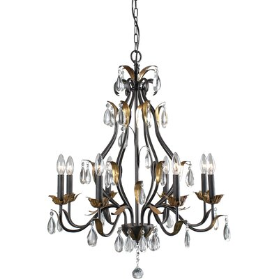 Aspendale 8-Light Candle-Style Chandelier