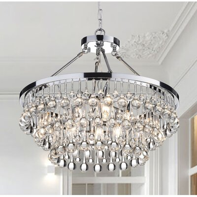 Mcknight 9-Light Crystal Chandelier