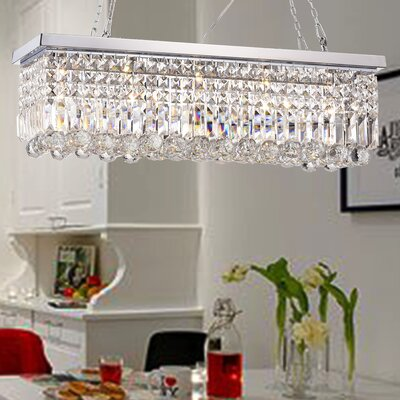 Ramsgate 5-Light Crystal Chandelier Finish: Chrome
