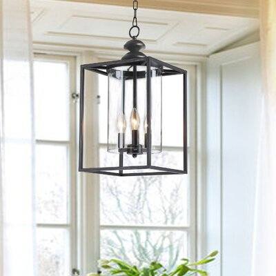 Chesson 3-Light Foyer Pendant