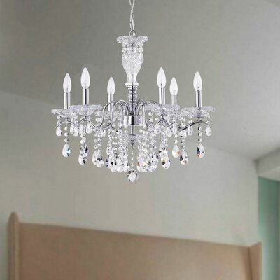 Tilbury 6-Light Candle-Style Chandelier