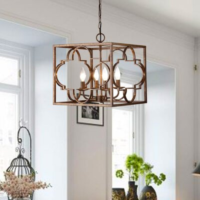 Twin Falls 4-Light Foyer Pendant