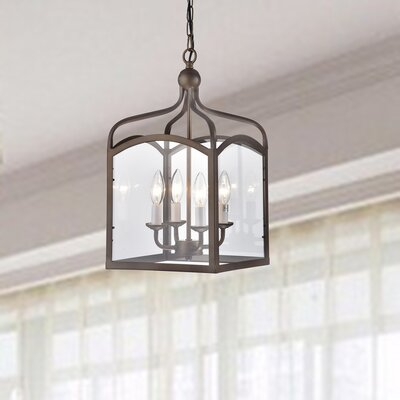 Baddock 4-Light Lantern Pendant