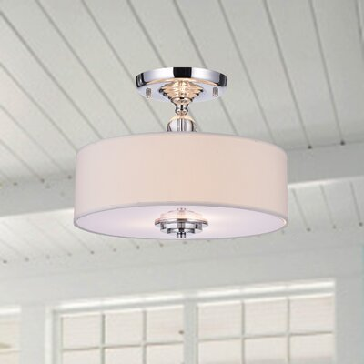 Luciano 3-Light Semi Flush Mount