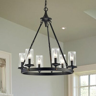 Chifdale 6-Light Candle-Style Chandelier