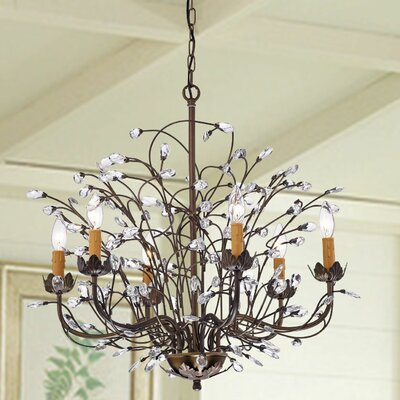 Timberlane 6-Light Candle-Style Chandelier