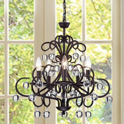 Ross 5-Light Candle-Style Chandelier