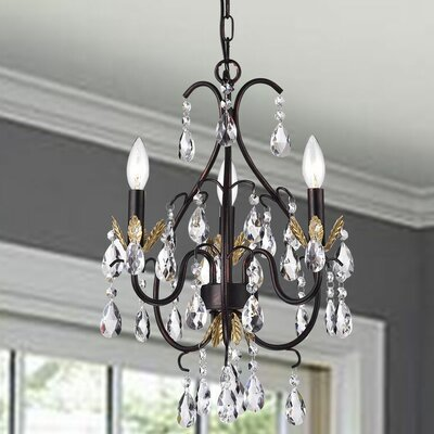 Tindell 3-Light Candle-Style Chandelier