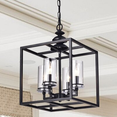 Cheverton 4-Light Foyer Pendant
