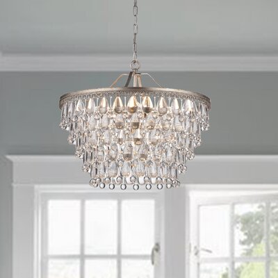 Bramers 6-Light Crystal Chandelier