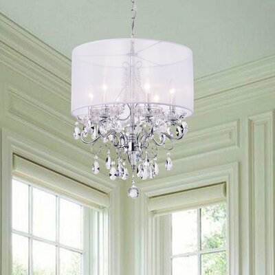 Feldspar 6-Light Drum Chandelier