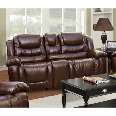 Ottawa Leather Reclining Sofa