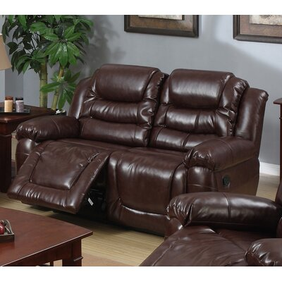 Toronto Leather Reclining Loveseat