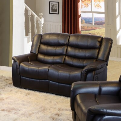 FG004-L QRMG1000 Beverly Fine Furniture Madison Reclining Loveseat