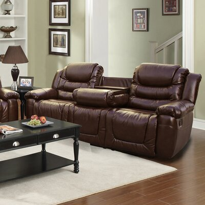 GS3888-S QRMG1016 Beverly Fine Furniture Ottawa Reclining Sofa