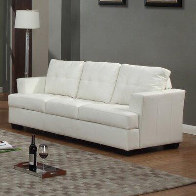 Cecilia Sofa Upholstery: White
