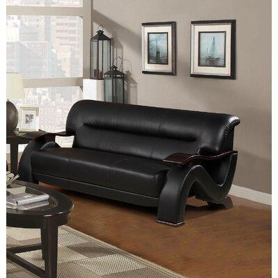 Koriga Sofa Upholstery: Black