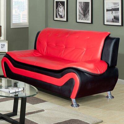 F4503-S QRMG1079 Beverly Fine Furniture Linda Leather Sofa