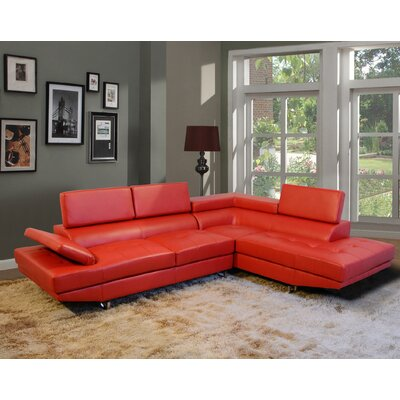 Beverly Fine Furniture F18-RD Fila Sectional Upholstery