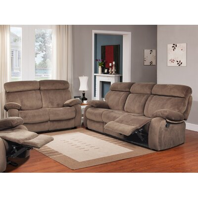 GS2601-2PC Beverly Fine Furniture Walnut Living Room Sets