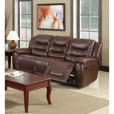 Toronto Leather Reclining Sofa