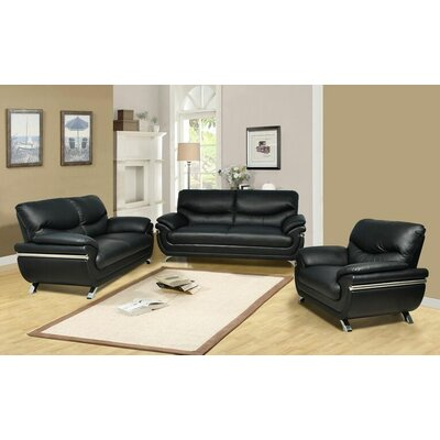 Liam 3 Piece Living Room Set