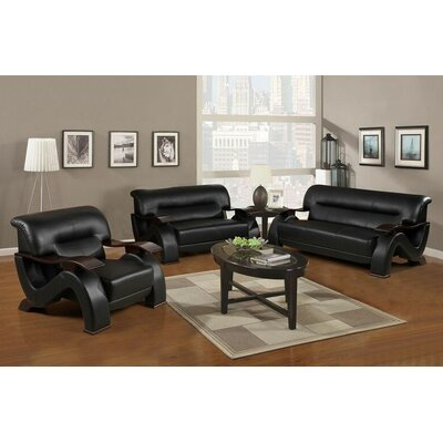 Elsa 3 Piece Living Room Set