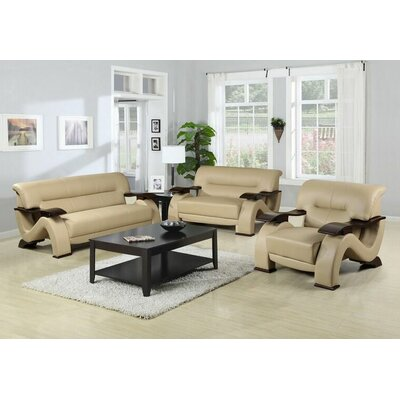 Ace 3 Piece Living Room Set