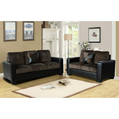 James 2 Piece Living Room Set