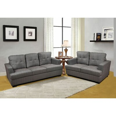 Declan 2 Piece Living Room Set