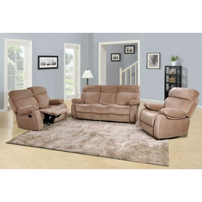 Percy 3 Piece Living Room Set