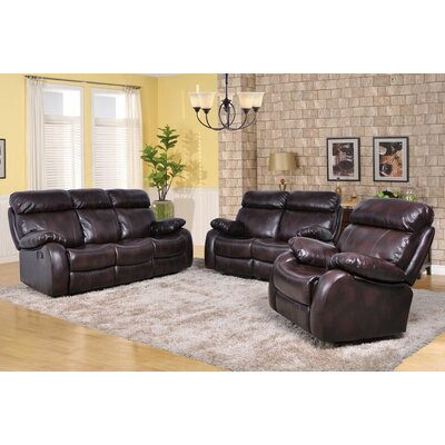 Maxwell 3 Piece Living Room Set