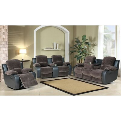 Santiago 3 Piece Living Room Set