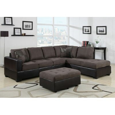 Beverly Fine Furniture F21B-3pcs Jackson Sectional Orientation