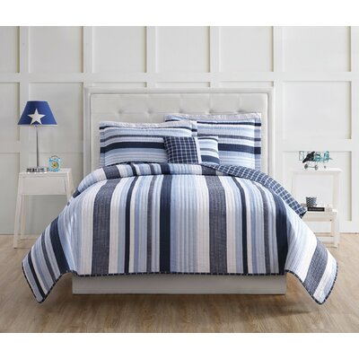 Clayfield Reversible Quilt Set Size: Twin