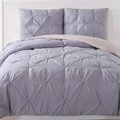 Talon Duvet Set Color: Lavender, Size: Twin XL