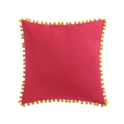 Jaimie Pom Pom Decorative Throw Pillow
