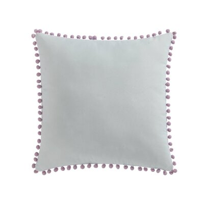 Del City Pom Pom Throw Pillow