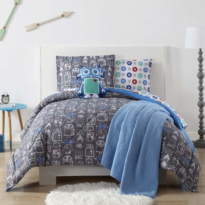 Del Rey Oaks Comforter Set Size: Twin XL