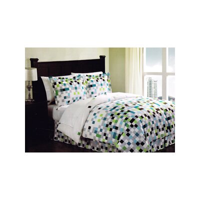 Marquetta Bed-In-A-Bag Set Size: Queen