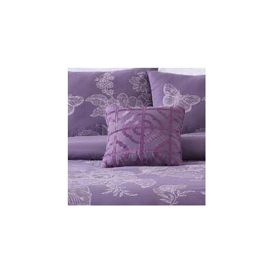 Etched Floral Throw Pillow CF8654DP-1449