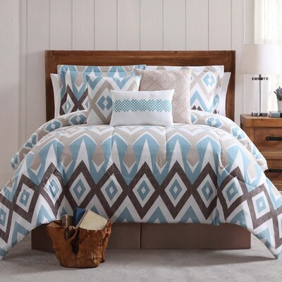 Scheller  7 Piece Comforter Set Size: King