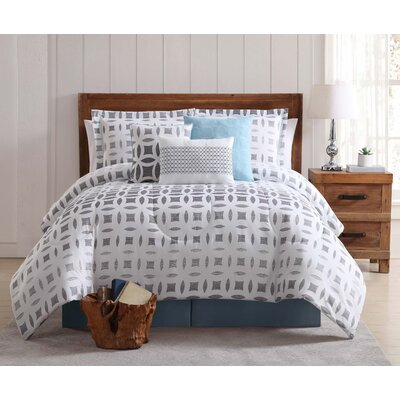Harland 7 Piece Comforter Set Size: Queen